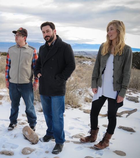 Dave Fellenz (left), Daniel Jaramillo (center), and Allisyn Stanfield (right)