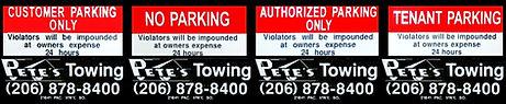 Pete's Towing Impound Contract Des Moines, WA Kent, WA SeaTac, WA Auburn Federal Way, WA Pete's 24 Hour Towing Service Seattle, WA