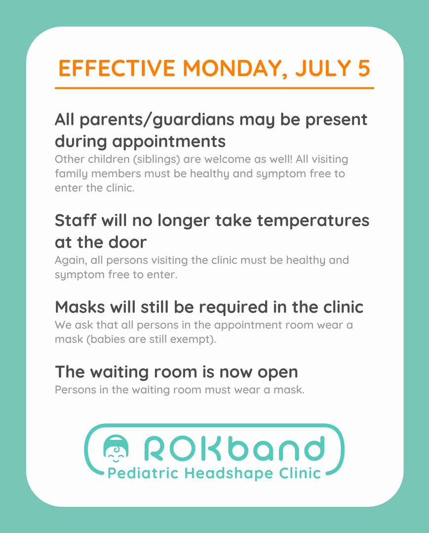 Updated Clinic Policies