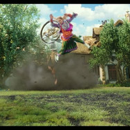 ALICE THROUGH THE LOOKING GLASS  CHRIS ROMANO SR FX ARTIST  HOUDINI FX / KATANA / NUKE Sparks and smoke FX, vehicles FX simulations, trails, debris, and impacts, dragon interactions, weird houdini cloth sims for plant lock, window, hallway, vehicles RBD destruction,   Studio : SONY IMAGEWORKS  pswd: vfxpassword