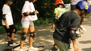 Skate, Create, Meditate Begins with a Bang!