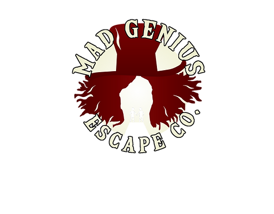 Mad Genius Escape Rooms Logo