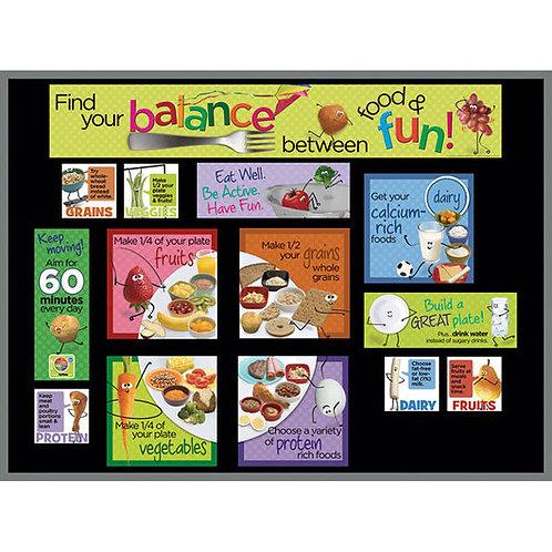 Kids' MyPlate Bulletin Board Kit