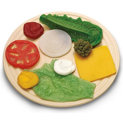 Nasco Toppings & Condiment Food Replica Kit