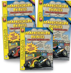 Comprehension Quickies Book Set