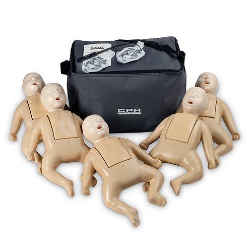 CPR Prompt® TPAK 50 Infant Training Pack - 5 Tan Manikins