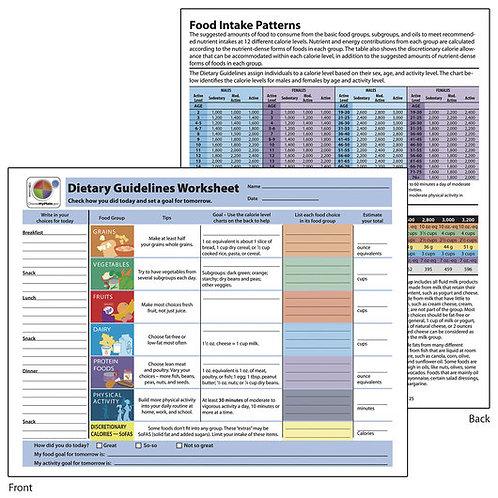 Dietary Guidelines TearPad™