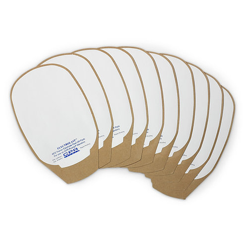AED Trainer Foam Electrode Peel-Off Pads - Medtronic Physio-Control Style