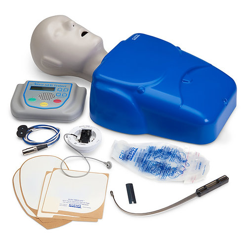 CPR Prompt® Plus Complete AED Training System powered by Heartisense® - Blue