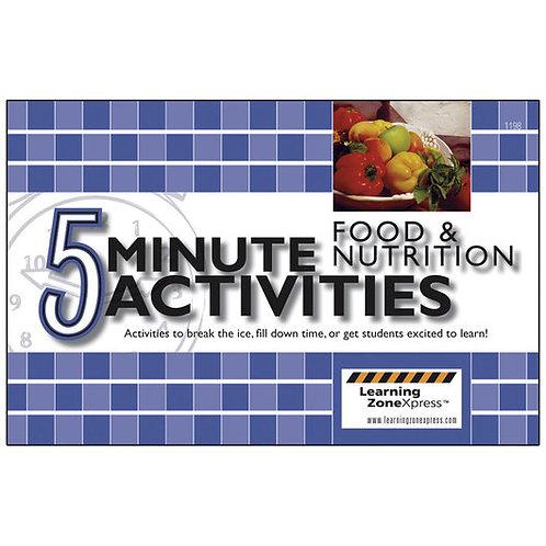 5-Minute Food & Nutrition Activities Book
