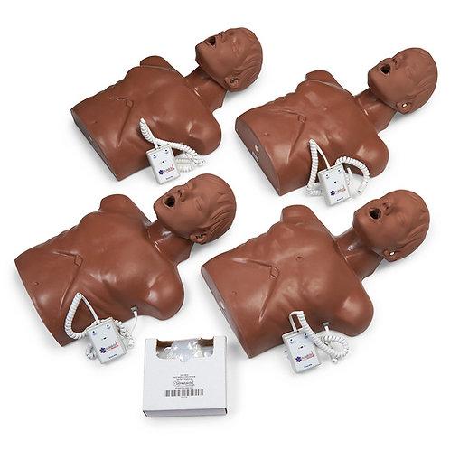 Simulaids® Econo VTA CPR Trainer 4-Pack - Dark
