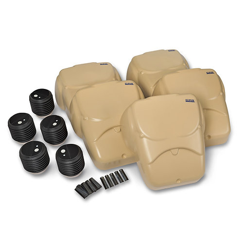 CPR Prompt® Compression Chest Manikins - Pack of 5 - Tan