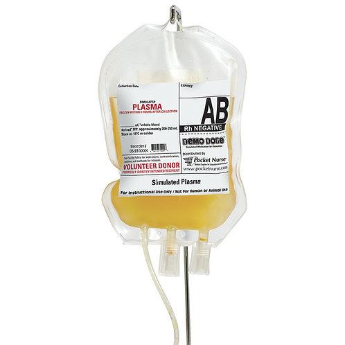 Demo Dose® Simulated Blood Platelets - AB Rh Negative