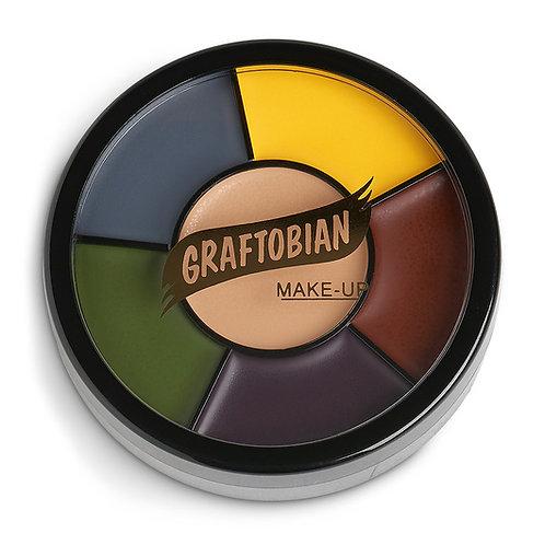 Grease Paint Makeup Wheel - Injury Shades
