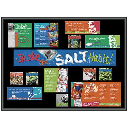 Shake the Salt Habit Bulletin Board Kit
