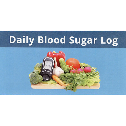 Daily Blood Sugar Log