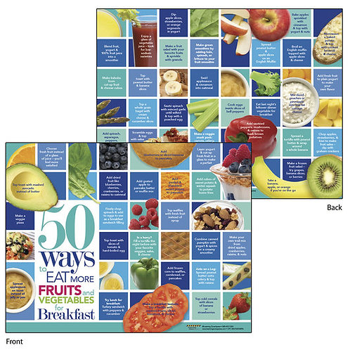 50 Ways to Eat More Fruits and Vegetables - Tablet