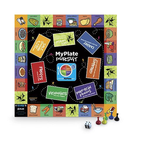 MyPlate Pursuit Board Game