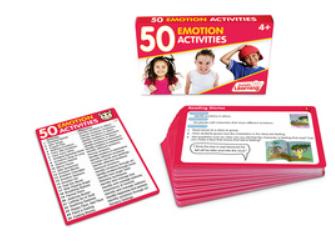 50 Emotion Activities Card Set
