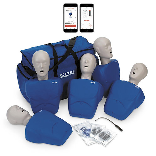 CPR Prompt® Plus 5-Pack powered by Heartisense® - Blue