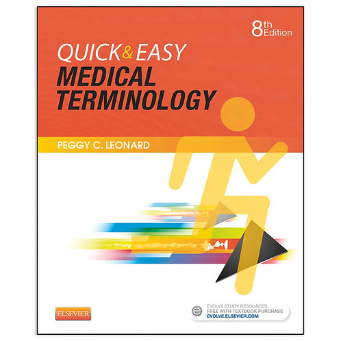 Quick & Easy Medical Terminology Book & CD-ROM