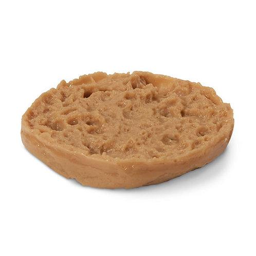 Nasco English Muffin Food Replica - Whole Wheat - Half