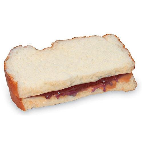 Nasco Sandwich Food Replica - Peanut Butter and Jelly