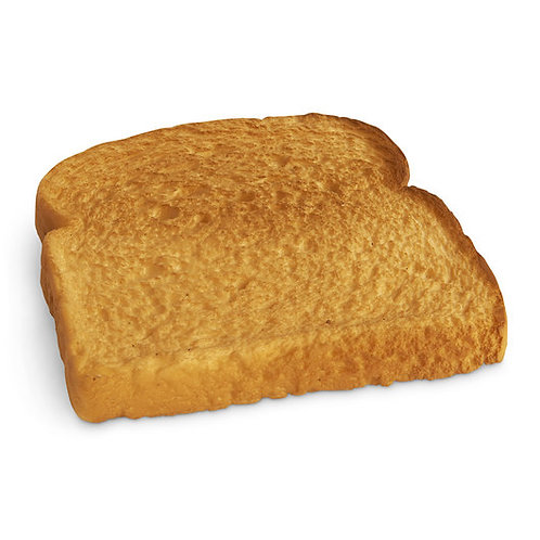 Nasco Bread Food Replica - Toasted White