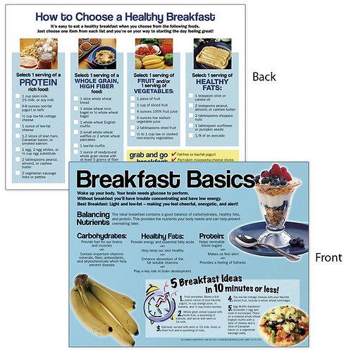 Breakfast Basics Tablet - 8-1/2 in. x 11 in. - 50 Sheets
