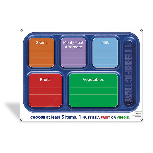 1 Terrific Tray™ Dry-Erase Menu Board