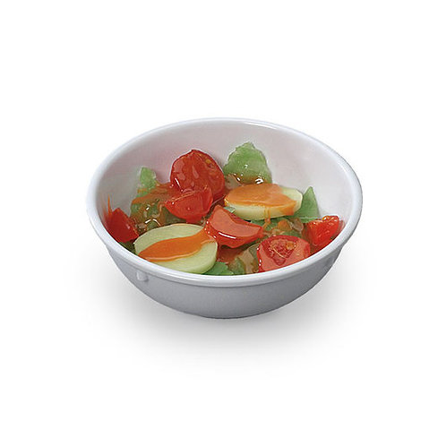 Nasco Salad with French Dressing Food Replica