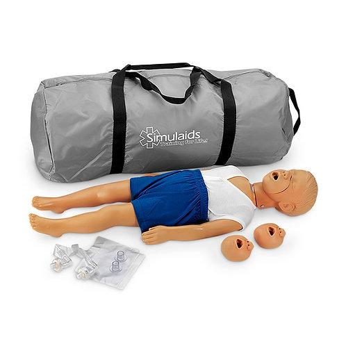 Kyle™ 3-Year-Old CPR Manikin - White