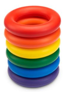 Giant Foam Rings