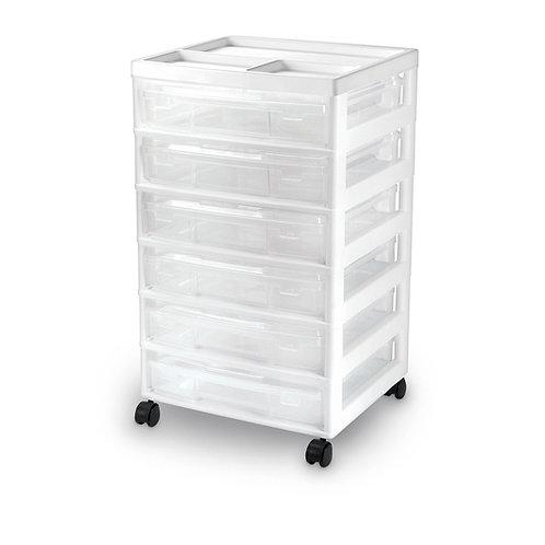 6-Case Storage Cart