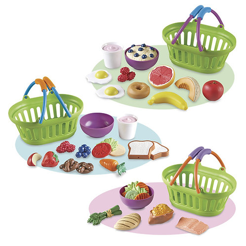 Pretend & Play® Healthy Food Play Set - 55 Pieces