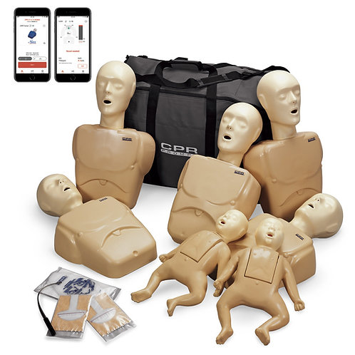 CPR Prompt® Plus Complete TPAK700 7-Pack powered by Heartisense® - Tan