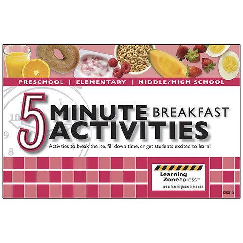 5-Minute Breakfast Activities