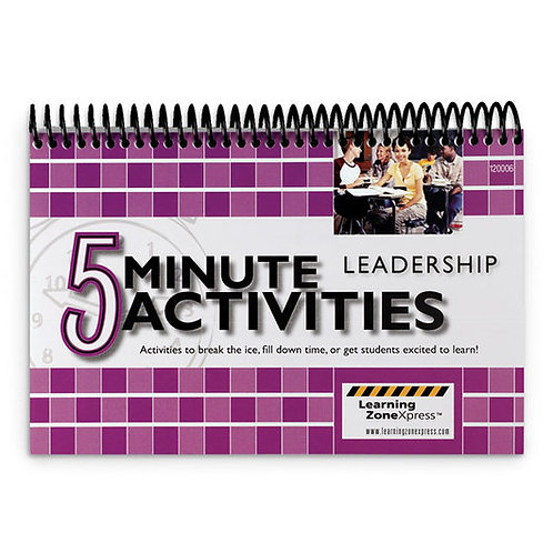 5-Minute Leadership Activities