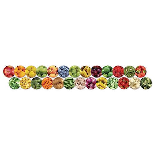 Fruits and Veggies Classroom Borders