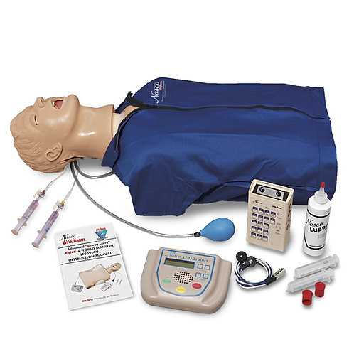 Advanced Torso with Defibrillation Features, ECG Simulation, and AED Training