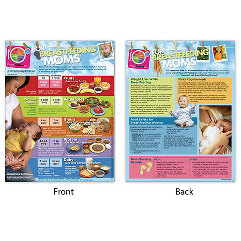 MyPlate for Breastfeeding Moms Tablet - English