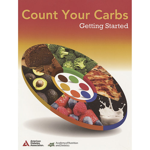 Count Your Carbs: Getting Started Guidebooks - Pack of 10 - 8-1/2 in. x 11 in.
