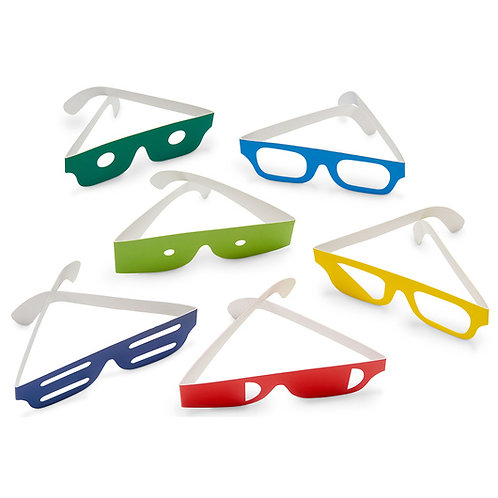 Chronic Care Challenges™ Simulation Glasses - Set of 6