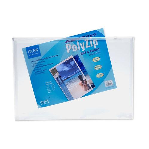 Art Profolio® PolyZip™ Art and Photo Envelope - 13 in. x 19 in.