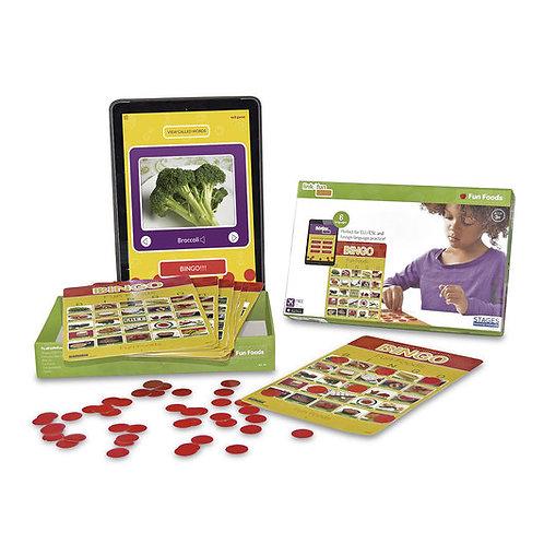 Fun Foods Bingo Game