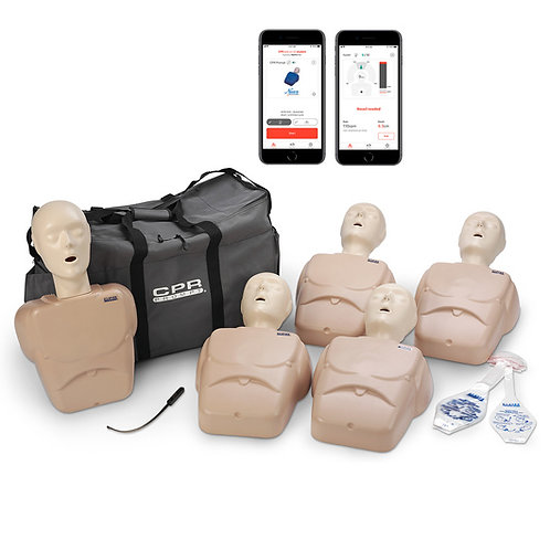 CPR Prompt® Plus 5-Pack powered by Heartisense® - Tan