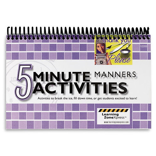 5-Minute Manners Activities