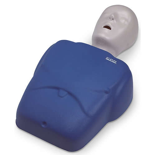 CPR Prompt® Training and Practice TMAN 1 Adult/Child Manikin - Blue