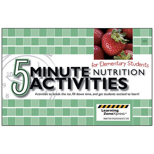5-Minute Nutrition Activities Book