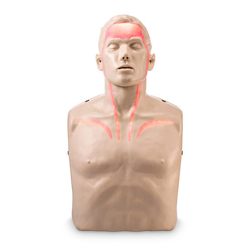 Brayden CPR Training Manikin with Red Indicator Lights